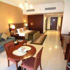 Star Metro Deira Hotel Apartments 4* Номер Делюкс с различными типами кроватей фото 8