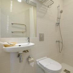Гостиница Aterra Suite 3* Стандартный номер двуспальная кровать фото 8