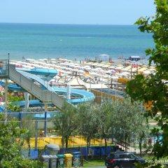 Hotel Sole Mio пляж