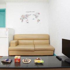 Отель Cozy Place in Itaewon Стандартный номер с различными типами кроватей фото 27