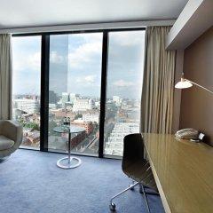 Отель Hilton Manchester Deansgate 4* Номер Делюкс фото 2