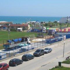 Отель Sunny Island Obzor Болгария, Аврен - отзывы, цены и фото номеров - забронировать отель Sunny Island Obzor онлайн пляж фото 2