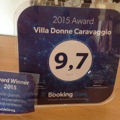 Отель Villa Donne Caravaggio Рокка-Сан-Джованни интерьер отеля фото 3
