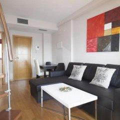 Отель Apartamentos Atocha Испания, Мадрид - отзывы, цены и фото номеров - забронировать отель Apartamentos Atocha онлайн комната для гостей фото 3