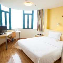 Отель 7Days Inn Xi'an Big Wild Goose Pagoda Shanbo Branch Китай, Сиань - отзывы, цены и фото номеров - забронировать отель 7Days Inn Xi'an Big Wild Goose Pagoda Shanbo Branch онлайн комната для гостей фото 5