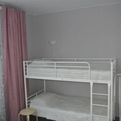 Хостел Кукуруза Кровать в общем номере двухъярусные кровати