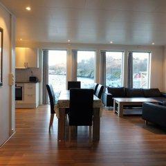 Отель Saltstraumen Brygge 3* Апартаменты с различными типами кроватей фото 4