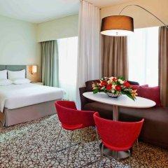 Отель Novotel Suites Mall of the Emirates 3* Стандартный номер с различными типами кроватей фото 3