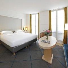 Отель Hôtel Opéra Richepanse 4* Номер Делюкс с различными типами кроватей фото 19