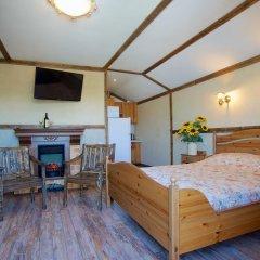 Гостиница Теремок Заволжский Апартаменты разные типы кроватей фото 39