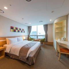 Tmark Hotel Myeongdong 3* Номер Делюкс с различными типами кроватей фото 7