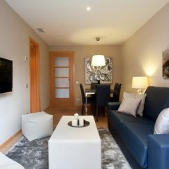 Апартаменты Click&Flat Eixample Derecho Apartments Барселона комната для гостей фото 3