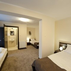Отель Villa Pallas Польша, Гданьск - отзывы, цены и фото номеров - забронировать отель Villa Pallas онлайн комната для гостей фото 5