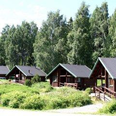 Отель Rastila Camping Helsinki Коттедж с различными типами кроватей фото 13