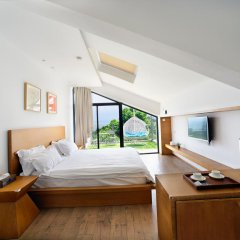 Отель Xiamen Gulangyu Liuyue Sea View Hotel Китай, Сямынь - отзывы, цены и фото номеров - забронировать отель Xiamen Gulangyu Liuyue Sea View Hotel онлайн комната для гостей фото 3