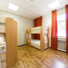 Patio Hostel Irkutsk Кровать в общем номере с двухъярусной кроватью фото 9