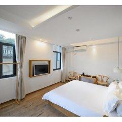 Отель Xiamen Gulangyu Liuyue Sea View Hotel Китай, Сямынь - отзывы, цены и фото номеров - забронировать отель Xiamen Gulangyu Liuyue Sea View Hotel онлайн комната для гостей фото 5