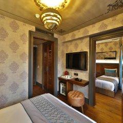 Sanat Hotel Pera Boutique 3* Стандартный семейный номер с различными типами кроватей фото 2