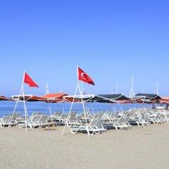 Club Mermaid Village Турция, Аланья - 1 отзыв об отеле, цены и фото номеров - забронировать отель Club Mermaid Village - All Inclusive онлайн пляж фото 2