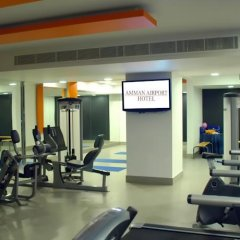 Отель Amman Airport Hotel Иордания, Аль-Джиза - отзывы, цены и фото номеров - забронировать отель Amman Airport Hotel онлайн фитнесс-зал фото 4