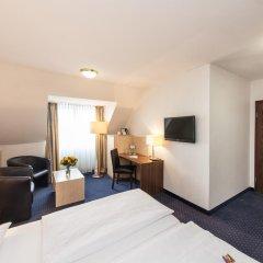 Отель Novum Hotel Mariella Airport Германия, Кёльн - 1 отзыв об отеле, цены и фото номеров - забронировать отель Novum Hotel Mariella Airport онлайн комната для гостей фото 4