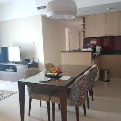 Отель Somerset Ho Chi Minh City 4* Улучшенные апартаменты с различными типами кроватей фото 7