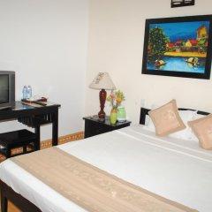 Отель Han Thuyen Homestay 3* Улучшенный номер с различными типами кроватей фото 2