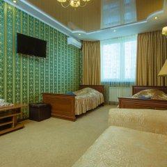 naDobu Hotel Poznyaki 2* Номер с общей ванной комнатой с различными типами кроватей (общая ванная комната) фото 5