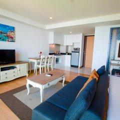 Отель Rocco Huahin Condominium Студия с различными типами кроватей фото 17