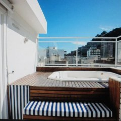 Отель Copacabana Penthouse балкон