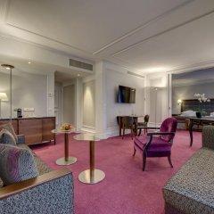Отель Schweizerhof Zürich 4* Полулюкс с различными типами кроватей фото 7