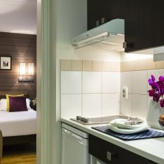 Отель Citadines Republique Paris 3* Студия с различными типами кроватей фото 3
