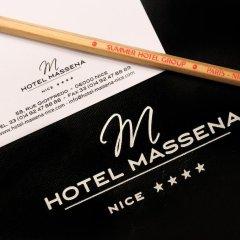 Best Western Plus Hotel Massena Nice 4* Стандартный номер с различными типами кроватей