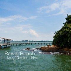 Отель Ban Thai Villa Пхукет приотельная территория фото 2