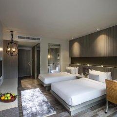 Hotel IKON Phuket 4* Улучшенный номер двуспальная кровать фото 8