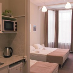 Арс Отель Семейная студия разные типы кроватей фото 9