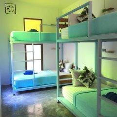 Hey beach hostel Ланта комната для гостей