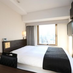 APA Hotel Shinbashi Onarimon 3* Стандартный номер с двуспальной кроватью