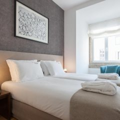Отель Feels Like Home Rossio Prime Suites 4* Стандартный номер фото 33