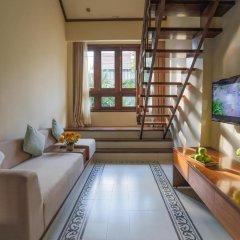 Отель Almanity Hoi An Wellness Resort 4* Улучшенный номер с различными типами кроватей фото 7
