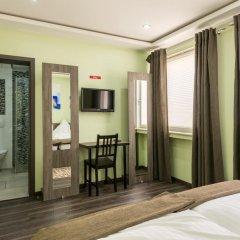 Отель Bürgerhofhotel 3* Стандартный номер с двуспальной кроватью фото 2