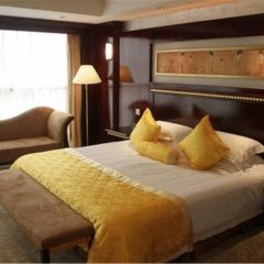 Отель Shanghai Golden Jade Sunshine Hotel Китай, Шанхай - отзывы, цены и фото номеров - забронировать отель Shanghai Golden Jade Sunshine Hotel онлайн комната для гостей фото 7