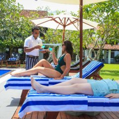 Отель Club Villa Шри-Ланка, Бентота - отзывы, цены и фото номеров - забронировать отель Club Villa онлайн бассейн фото 2