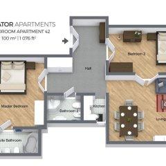 Апартаменты Residence Salvator - Prague City Apartments бассейн