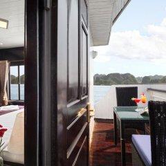 Отель Halong Aclass Legend Cruise 3* Люкс с различными типами кроватей фото 3
