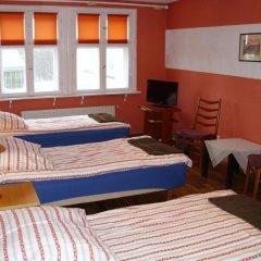 Отель Pokoje Goscinne Irene Номер с общей ванной комнатой с различными типами кроватей (общая ванная комната) фото 5