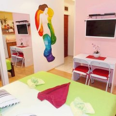Апартаменты Studio Venera Семейная студия с двуспальной кроватью фото 7