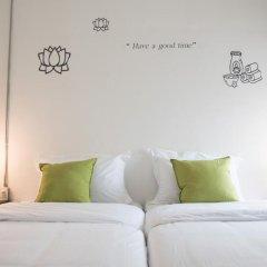 Отель Bed & Body Bangkok 2* Стандартный номер с различными типами кроватей фото 6