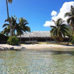 Отель Villa Lagon by Tahiti Homes Французская Полинезия, Папеэте - отзывы, цены и фото номеров - забронировать отель Villa Lagon by Tahiti Homes онлайн пляж