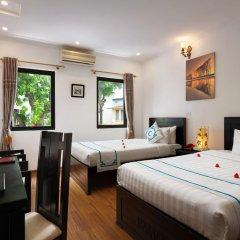 Hanoi Focus Boutique Hotel 3* Семейный номер Делюкс разные типы кроватей фото 13